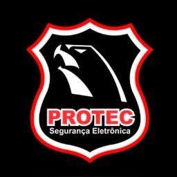 Logotipo da Protec Seguranca Eletrônica (Instalação e manutenção de portão eletrônico em Vitória da Conquista - BA)
