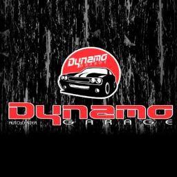 Logotipo da Dynamo Garage (Melhor preço de oficina mecânica em Vitória da Conquista - BA)