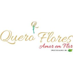 Logotipo da Quero Flores Floricultura (Floricultura em Cruz das Almas - BA)
