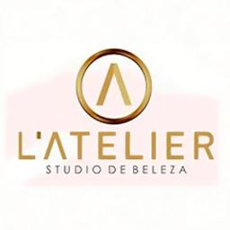 Logotipo do L´atelier Studio de Beleza (Salão de beleza em Santo Antônio de Jesus - BA)