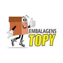 Logotipo da Embalagens Topy (Caixa de papelão personalizada em Vitória da Conquista - BA)