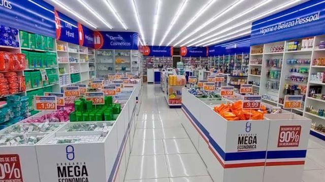 Imagem da galeria de fotos da Drogaria Mega Econômica
