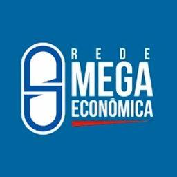 Logotipo da Drogaria Mega Econômica (Drogaria em Irecê - BA )