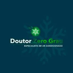Logotipo do Doutor Zero Grau (Loja de ar condicionado em Guanambi - BA)