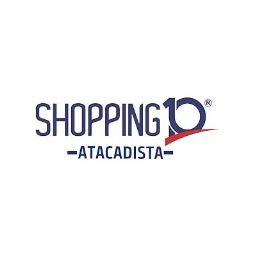 Logotipo do Atacadão Shopping 10 (Maior distribuidora da Bahia em Ipupiara - BA)