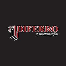 Logotipo da Diferro Materiais de Construção (Melhor preço de ferro e cimento em Irecê - BA)